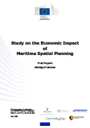 Study on the economic impact of maritime spatial planning